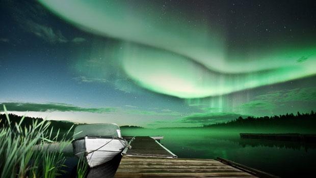 aurore boreale canada lune de miel