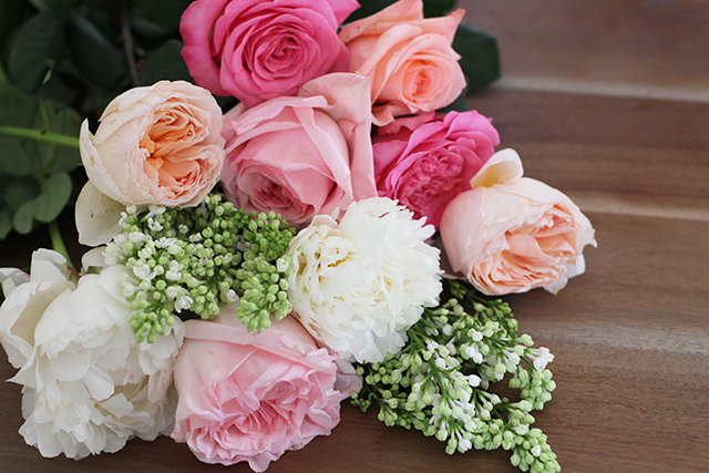 chandelier fleurs diy mariage romantique
