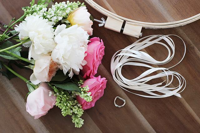 chandeliers fleurs diy mariage