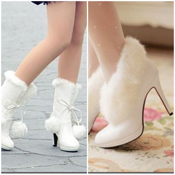 chaussure mariage hiver