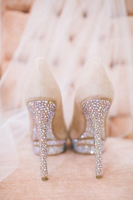 chaussures a talons pour le mariage