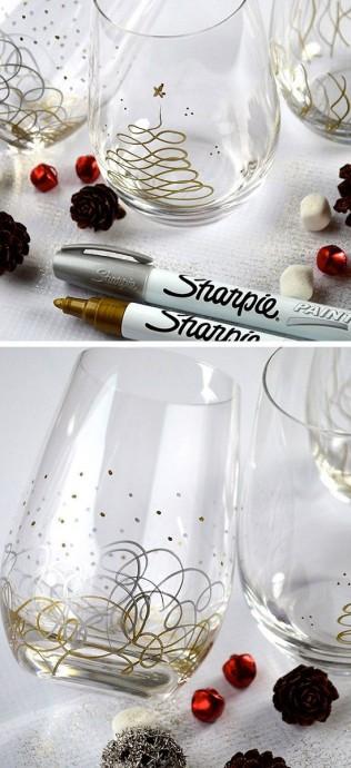 comment decorer des verres de mariage handmade pride blog