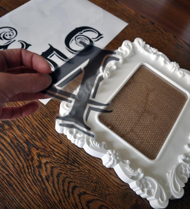 diy mariage numero de table vintage 4