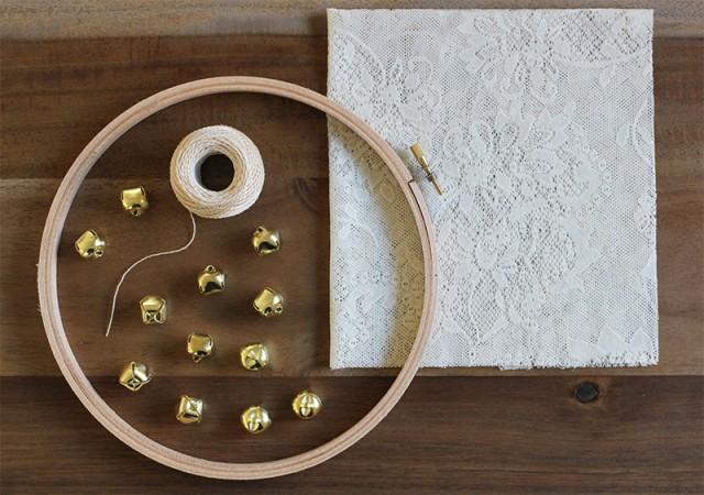diy tambourin mariage decoration invites 1