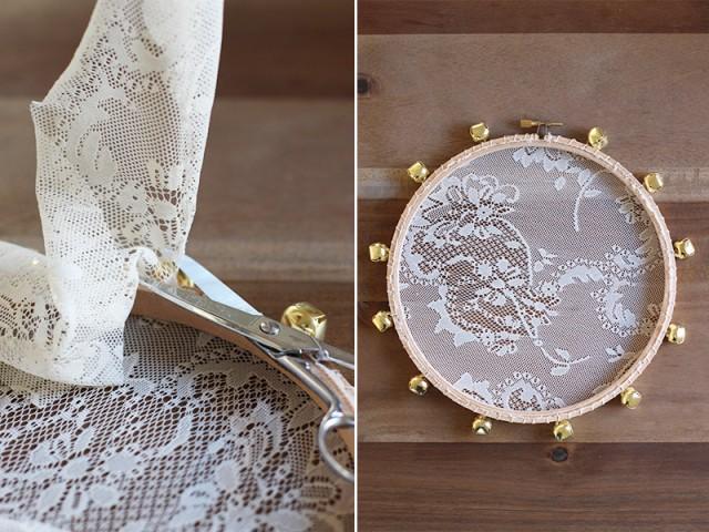 Diy de tambourins en dentelle faites du bruit pour les mari s - Decoration mariage diy ...