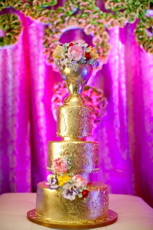 Wedding cake pour un mariage esprit indien, on copie ? - Mariage.com