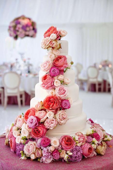 Wedding Cake Coeur