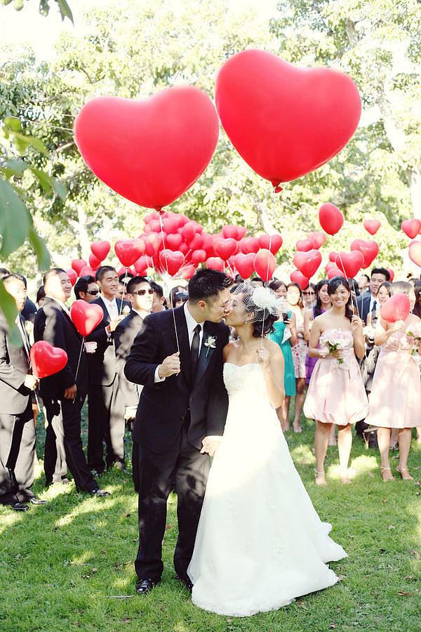 lance de ballons jeux mariage