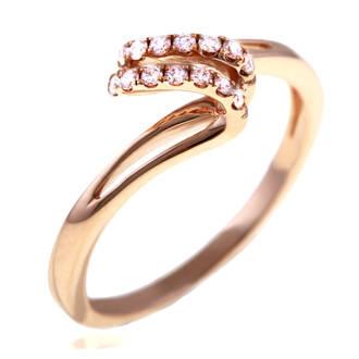 le manage a bijoux alliance or rose