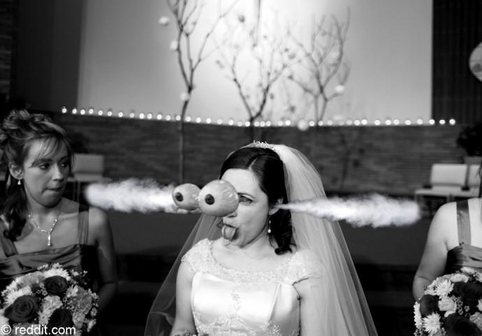 mariée buzz grimace  (2)