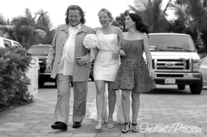 mariage caraibe diane et ses parents
