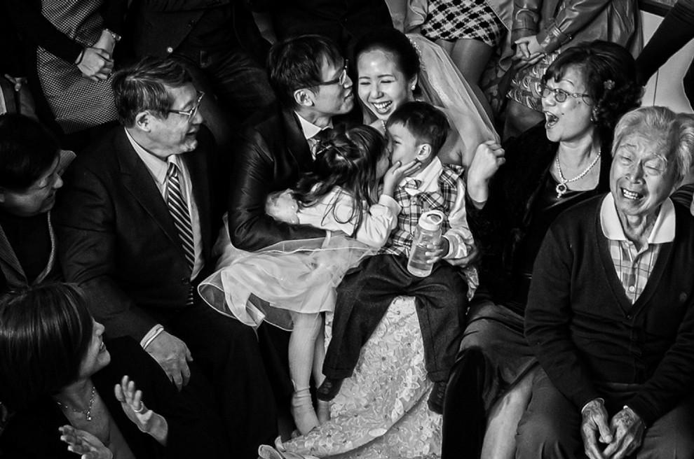 mariage enfants parents emotion