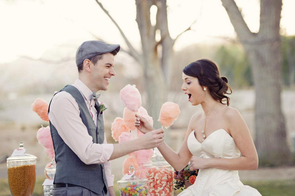 Un mariage sur le thème de la gourmandise, ça donne quoi ?