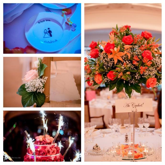 mariage nick nicole decoration preparatifs