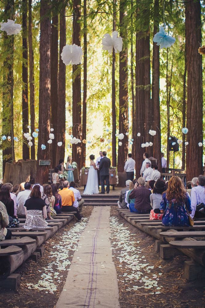 Mariage bois · mariageforêt · mariagethemeforet