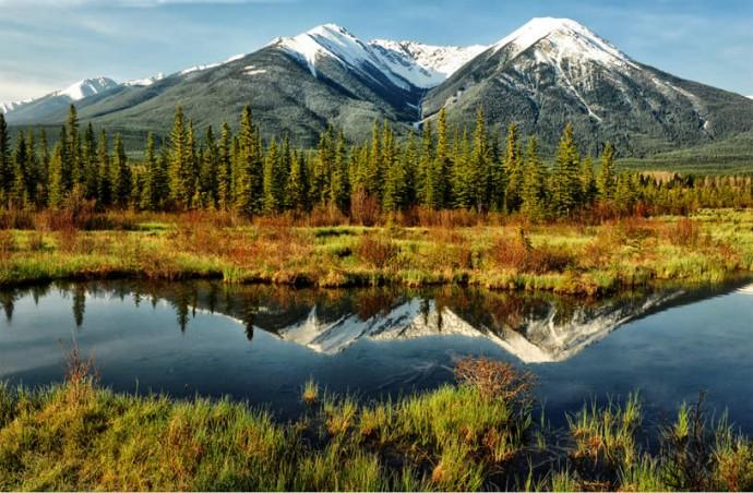 paysage canada lune de miel