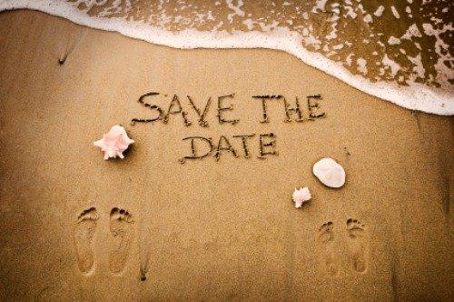 save the date pour un mariage