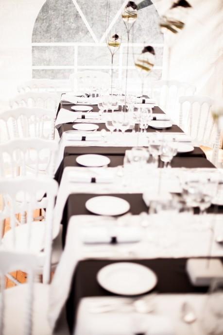 Le mariage black and white de Daniel et Jessica (4)