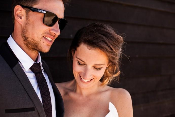 Le mariage black and white de Daniel et Jessica