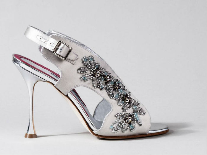 Le soulier de Manolo Blahnik