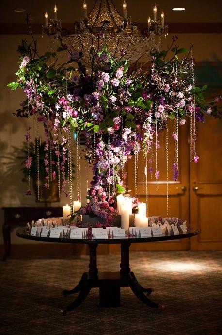 arbre a souhaits et marque places mariage