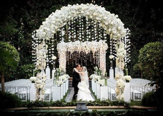 arche de mariage ceremonie