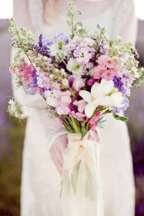 bouquet de mariee fleurs sauvages