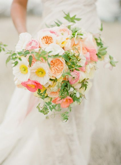 bouquet de mariee printemps
