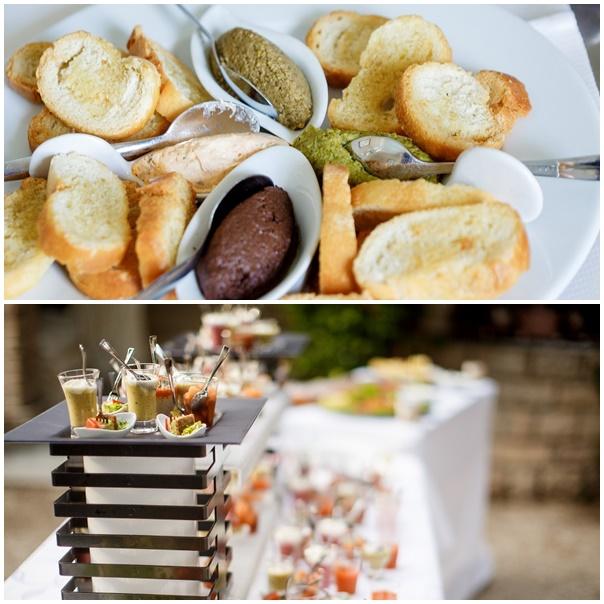 buffet mariage retro chic