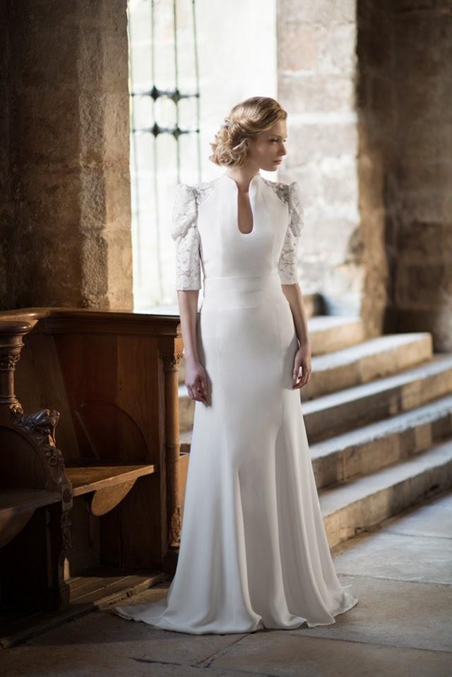 Tendance mariage 2015 : oui pour une robe droite ?