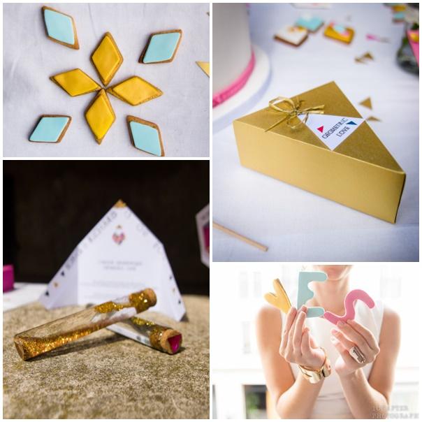 cadeaux invites mariage geometrique 1