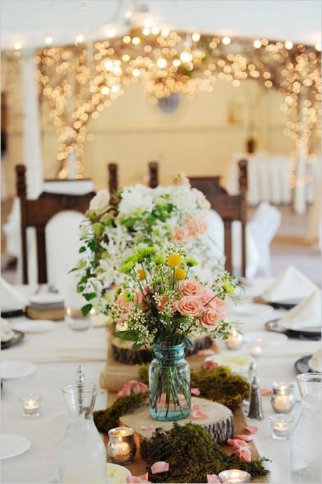 centres de tables pour mariage