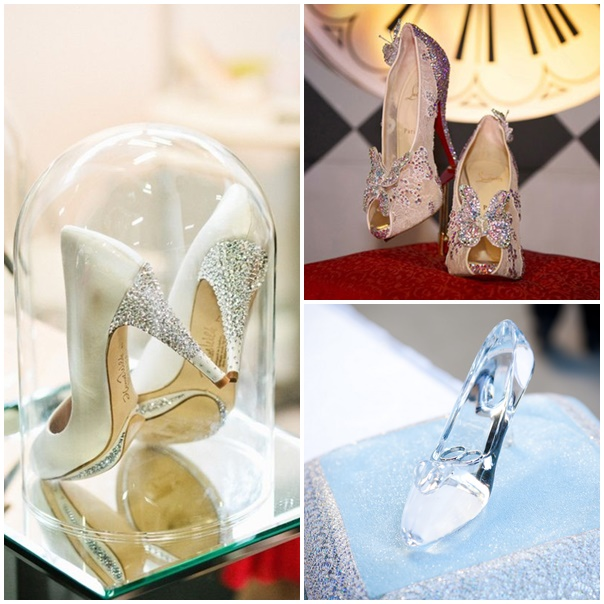 chaussure mariee mariage theme disney