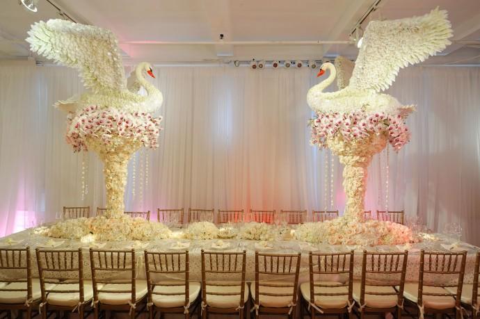 decoration de mariage spectaculaire