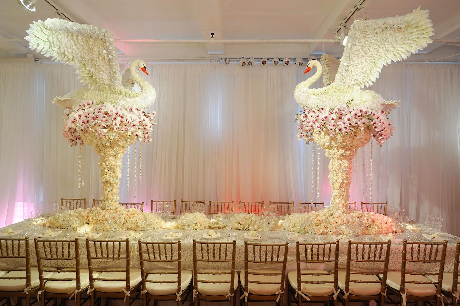 Оригинальный декор свадьбы фото