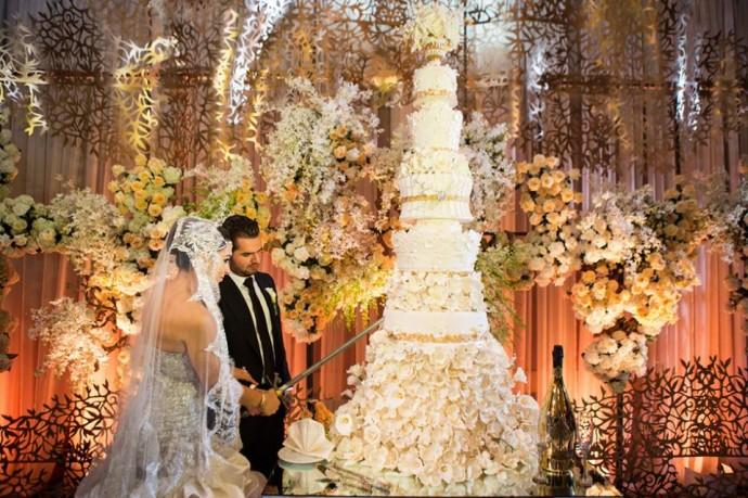 gateau de mariage XXL