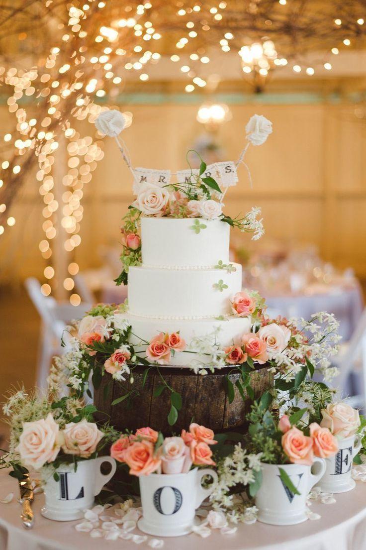 Le top des gâteaux de mariage colorés pour votre mariage printanier ...