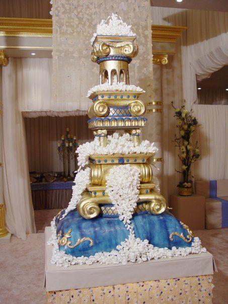 incroyable gateau de mariage
