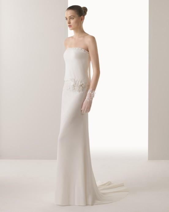 tendance mariage 2015 oui pour une robe droite. Black Bedroom Furniture Sets. Home Design Ideas