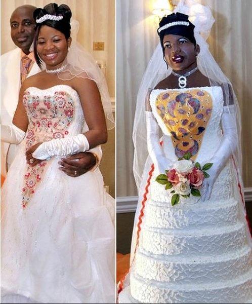 Le top 10 des pires wedding cakes - Mariage.com