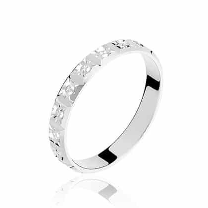 bague or blanc et diamant marc orian