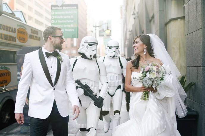mariage star wars jennifer joshua