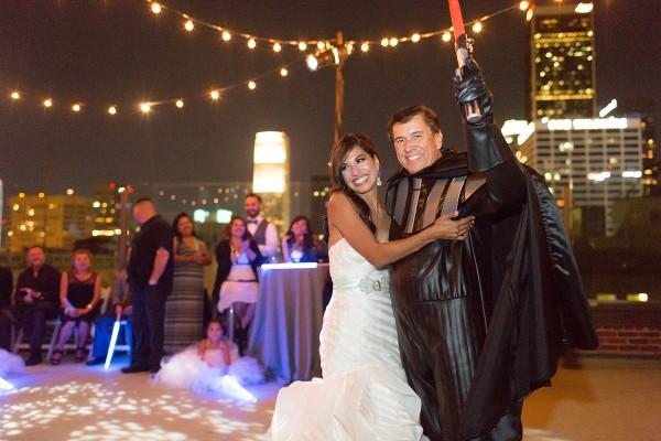 mariage star wars jennifer joshua 8
