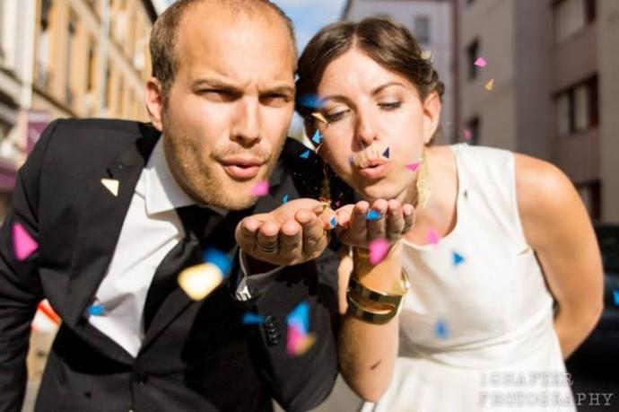 mariage sur le theme geometrique (4)