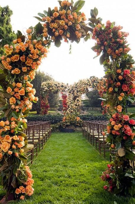 mariage theme tangerine  (10)