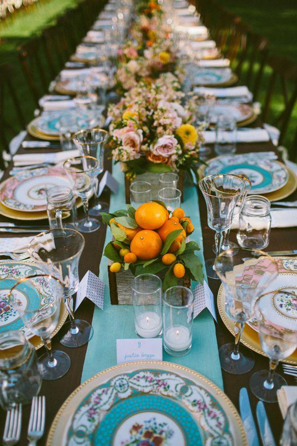 Je veux un mariage pep 39 s couleur tangerine - Quelle couleur avec le turquoise ...