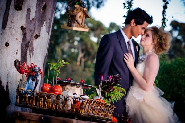 Mon mariage de rêve esprit «fées des bois»