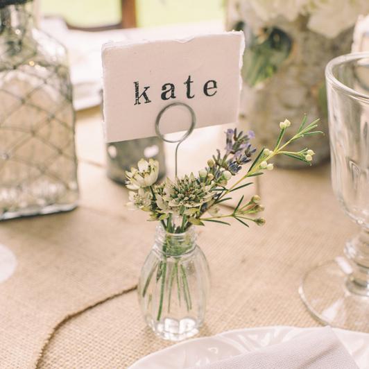 12 idées canons de marque-places pour un mariage - Mariage.com