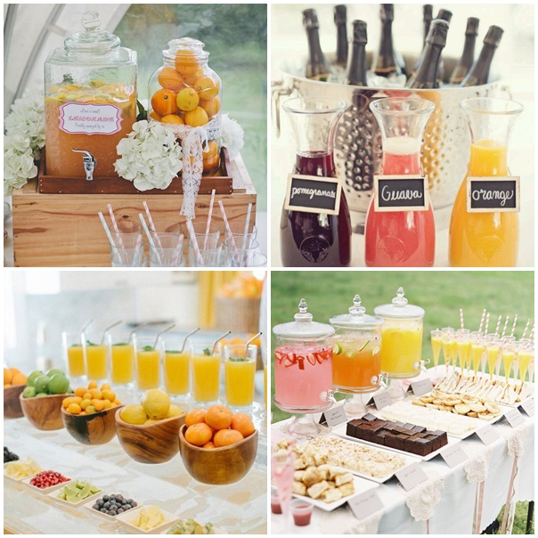 montage boisson mariage tangerine