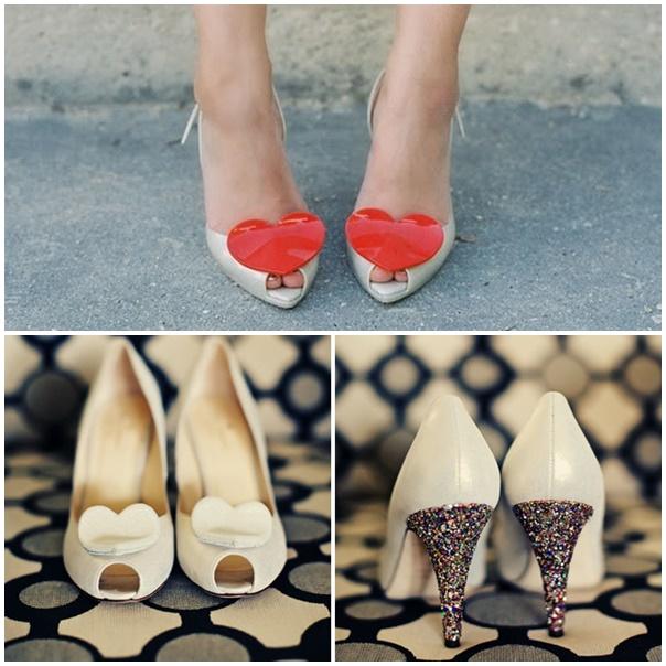 montage chaussures st valentin
